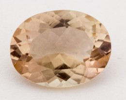 1.7ct Peach Oval Sunstone (S1242)