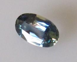 0.78cts Natural Australian Blue Sapphire Oval Cut