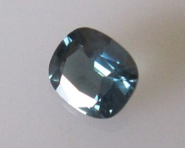 0.66cts Natural Australian Blue Sapphire Cushion Cut