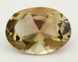 3.1ct Oregon Sunstone, Watermelon/Champagne Oval (S1258)