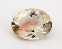 1.7ct Oregon Sunstone, Champagne/Red Oval (S1261)
