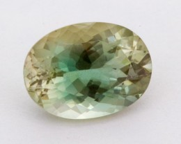 3.4ct Oregon Sunstone, Green/Clear Oval (S1322)