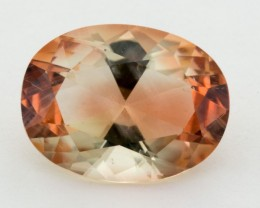 5ct Oregon Sunstone, Clear/Red Oval (S1252)