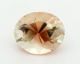 2.5ct Oregon Sunstone, Clear/Red Oval (S1249)