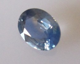 0.62cts Australian Blue Sapphire Oval Cut