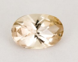 Oregon Sunstone, Clear Oval, 0.65 ct, (S122)
