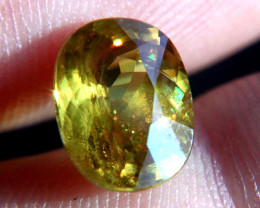 4.33 Carat SI Color Change Russian Rainbow Sphene - Beauty