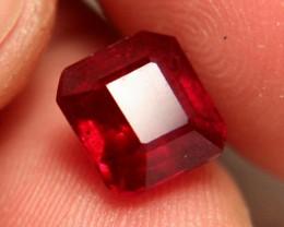 5.74 Carat VS2 Ruby - Fiery and Beautiful