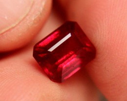 4.37 Carat Pigeon Blood Ruby - Fiery and Beautiful