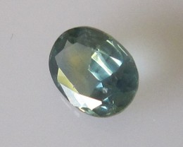 1.25cts AUSTRALIAN BLUE/YELLOW SAPPHIRE OVAL