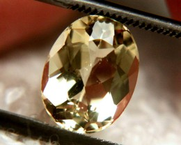 2.09 Carat VVS Golden Beryl - Superb
