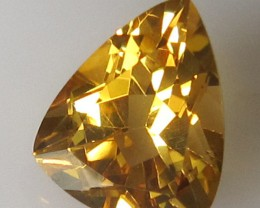 3.01cts BEAUTIFUL NATURAL CITRINE TRILLION CUT