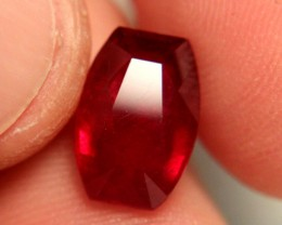 5.76 Carat VS Ruby - Fiery and Beautiful