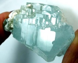 AQUAMARINE SPECIMENCLUSTER CRYSTALS 244.15  CTS  TBM-25