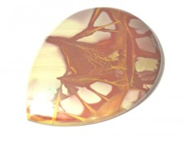 AAA Noreena Jasper cabochon 49 by 37 by 6mm 79.46ct AAA