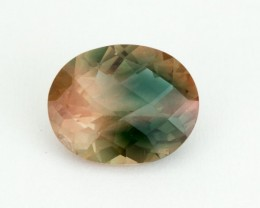 2.4ct Oregon Sunstone, Green/Pink Oval (S1864)
