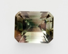 4.1ct Oregon Sunstone, Green/Pink Rectangle (S1876)