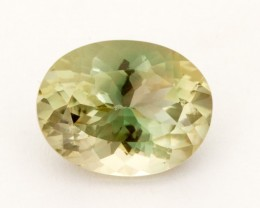4.8ct Oregon Sunstone, Watermelon/Champagne Oval (S1889)