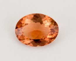 1.6ct Oregon Sunstone, Red/Peach Oval (S1816)