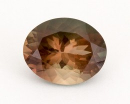 2.3ct Oregon Sunstone, Dichroic/Rootbeer Oval (S1809)
