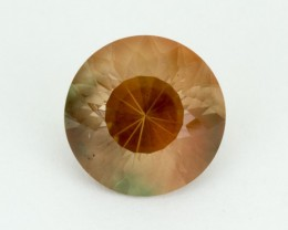 8.1ct Oregon Sunstone, Peach/Green Round (S1902)