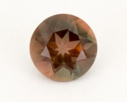 1.3ct Oregon Sunstone, Red/Green Round (S1833)