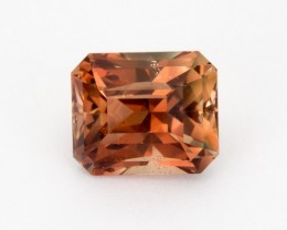 6.2ct Oregon Sunstone, Red/Peach Rectangle (S1900)
