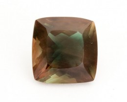 SALE WAS $8712 ~ 9.9ct Oregon Sunstone, Rootbeer Square (S1966)