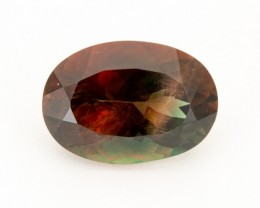 SALE WAS $12,300 ~ 12ct Oregon Sunstone, Dichroic Oval (S1070)