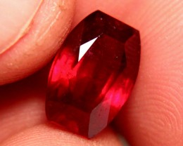 7.55 Carat Large Fiery VS Ruby - Superb