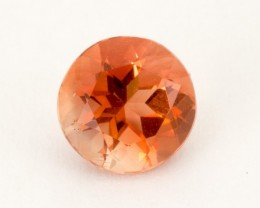 1ct Oregon Sunstone, Peach/Red Round (S1818)