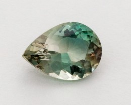 1.5ct Oregon Sunstone, Green/Clear Pear (S514)