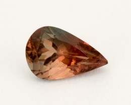 .6ct Oregon Sunstone, Red/Green Pear (S1842)