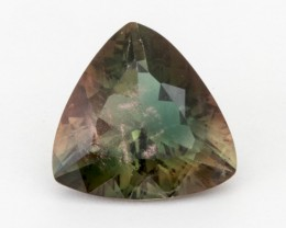5.4ct Oregon Sunstone, Green/Red Triangle (S668)