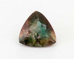 5.4ct Oregon Sunstone, Green/Red Triangle (S668)