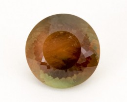 SALE WAS $7586 ~ 14.8ct Rootbeer Round  Oregon Sunstone, (S27)