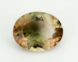 5.1ct Green Champagne Oval Sunstone (S940)