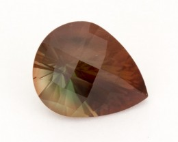 SALE WAS $4004 ~ 9.1ct Oregon Sunstone, Rootbeer Pear (S1035)