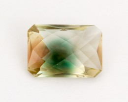 6.1ct Oregon Sunstone, Bicolor Rectangle (S1098)
