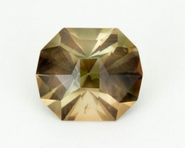 8.3ct Oregon Sunstone, Green/Red Octagon (S1893)