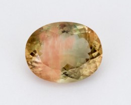 SALE WAS $3014 ~ 13.7ct Oregon Sunstone, Green/Pink Oval (S1895)