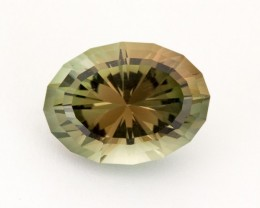 6.3ct Oregon Sunstone, Dichroic/Champagne Oval (S1907)