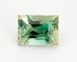 8.5ct Oregon Sunstone, Green/Clear Rectangle (S1916)