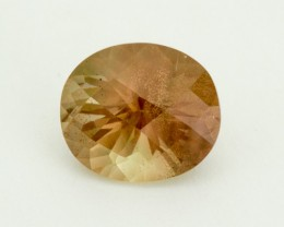 8.4ct Peach / Green Oval Sunstone (S1965)