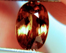 3.37 Carat VS Golden Amber Sphene - Flashy, Rare, Beautiful
