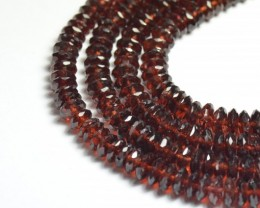 "4-7mm 16"" AAA Mozambique Garnet beads GRZ001"