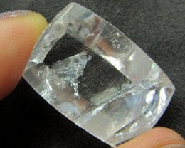 35  CTS  RECTANGULAR  UNIQUE PHANTOM QUARTZ    MJA  227