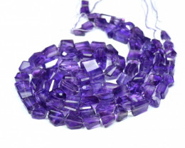 "SALE from $100 8"" 8-14mm rough cut Amethyst beads AAA Am007"