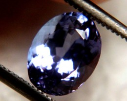 1.83 Carat IF/VVS1 African Tanzanite - Gorgeous