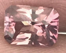1.5ct Quality Pinkish Orange Tourmaline VVS A889